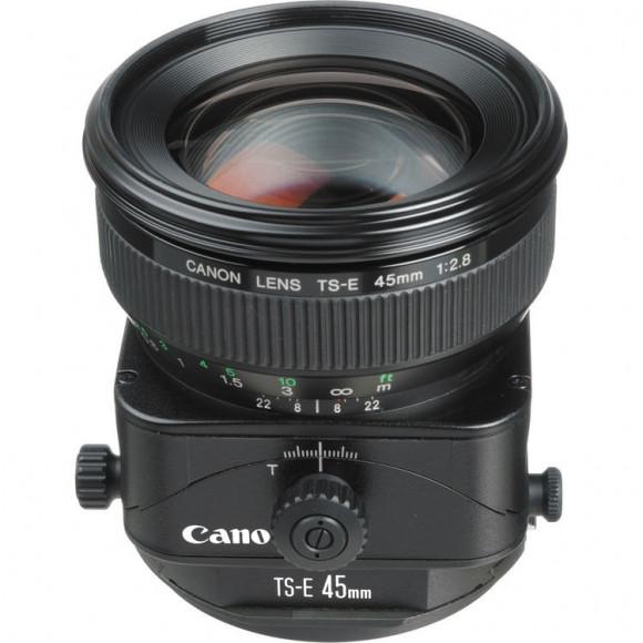 LENTE CANON TS-E 45MM F/2.8 TILT-SHIFT