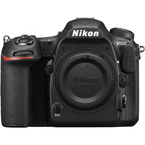 Câmera Digital Nikon Dx-format Preto 20.9mp - D500