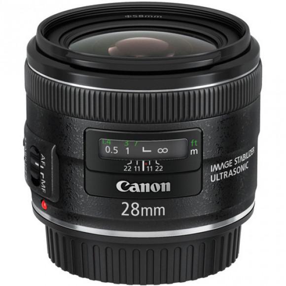 LENTE CANON EF 28MM F/2.8 IS USM