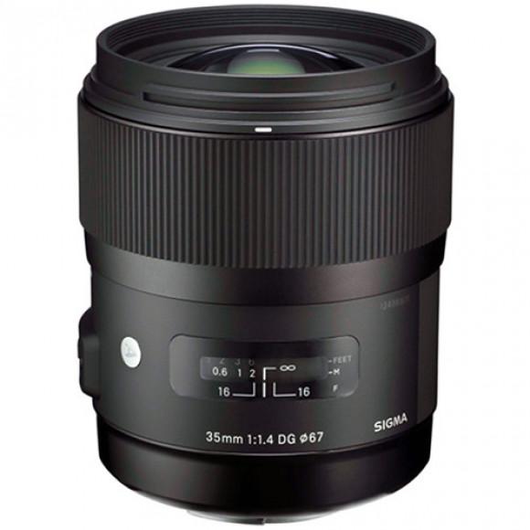 87a8a6642ecec Lente Sigma 35mm f 1.4 Dg Hsm Art para Canon - Detona Shop