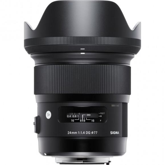 Lente Sigma 24mm f 1.4 DG Hsm Art Para Canon 311f101d73