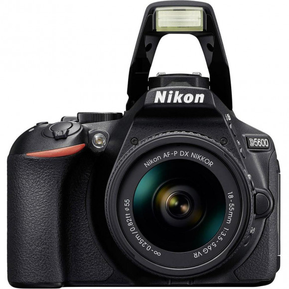 Câmera Digital Nikon Preto 24.2mp - D5600 | 18-55mm