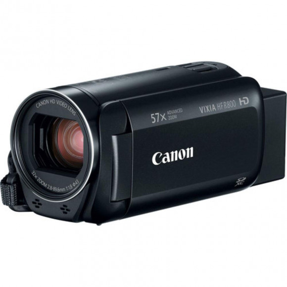 "FILMADORA DIGITAL CANON VIXIA HF R800, ZOOM X57, LCD 3"", FULL HD"