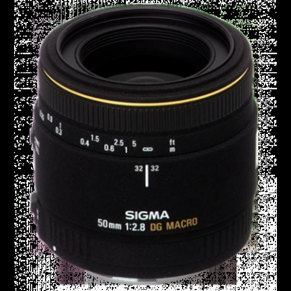 LENTE MACRO SIGMA 50MM F/2.8 EX DG PARA CANON