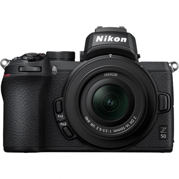 Câmera Digital Nikon Z50 Preto 20.9mp - 16-55mm