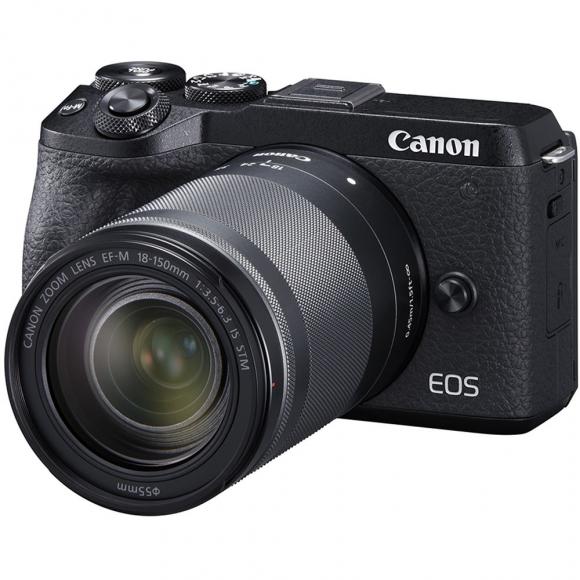 Câmera Digital Canon Eos Preto 24.2mp - M6 | 18-150mm