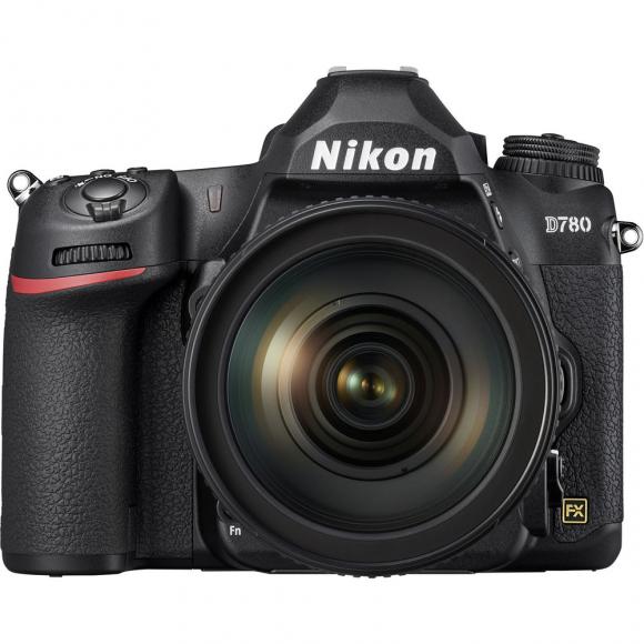 Câmera Digital Nikon D780 Preto 24.3mp - 24-120mm
