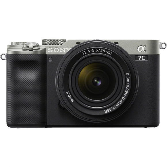 Câmera Digital Sony Alpha Prata 24.2mp - A7c | 28-60mm