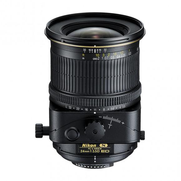 Lente Nikon PC-E NIKKOR 24mm f/3.5D ED