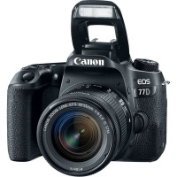 CÂMERA CANON EOS 77D AF-S 18-55MM IS STM, 24MP, FULL HD, WI-FI