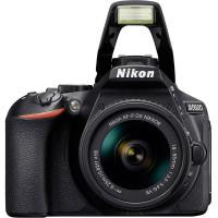 """CÂMERA DIGITAL NIKON D5600,  AF-P DX 18-55MM VR  24.7MP, LCD 3.2"""", FULL HD, WI-FI"""