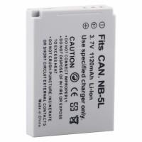 BATERIA CANON NB-5L (3.7V, 1120MAH) - COMPATÍVEL COM S110/SX210