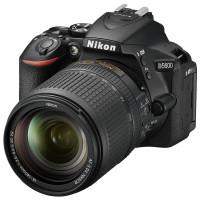 """CÂMERA DIGITAL NIKON D5600,  AF-S 18-140MM VR  24.7MP, LCD 3.2"""", FULL HD, WI-FI"""